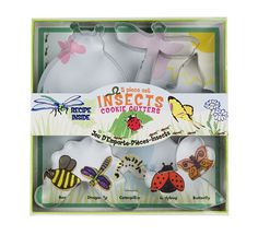Fox Run 5 Piece Insect Cookie Cutter Set ** Discover this special product, click the image : Baking Accessories