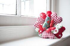 adorable fabric hearts bouquet alternative