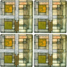 Frank Lloyd Wright Oak Park Skylight Placemat – Chicago ...