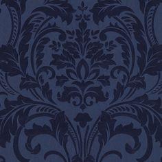 Vliestapete P+S Artemis Tapete 13233-40 1323340 Barock blau metallic blau