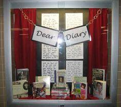 Library Displays: Dear Diary