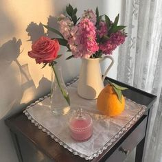 Image shared by tori. Find images and videos about pink, aesthetic and flowers on We Heart It - the app to get lost in what you love. Flower Aesthetic, Aesthetic Photo, Aesthetic Pictures, No Rain, Home And Deco, My New Room, Home Interior, Land Scape, Decoration