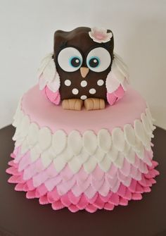 Owl Cake on Cake Central