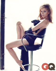 Anna Kendrick's GQ Photo Shoot She's wearing retro bikini bottoms