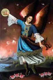 Resultado de imagen para arcangeles pintura cusqueña