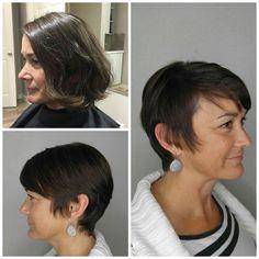 #FeatureFriday Haircut by Shannon ⠀ #iamsalonanddayspa #aveda #shannoniam #hair #stylist #whatsupwilmington #wilmingtonnc #wilmingtonstylist #shorthair #barberskills  #modernsalon #americansalon #cb #carolinabeach #wb #wrightsvillebeach #wilmington #hairbrained #behindthechair