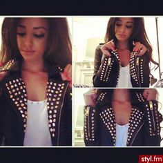 love this jacket #studs