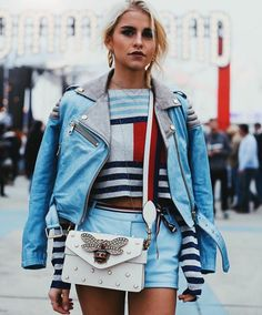 THEE ONE HUNDRED:  #fashion #tommy hilfiger #tommy land #thee one hundred #caroline daur #gucci