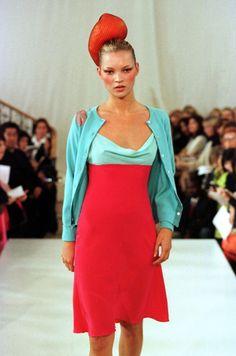 Kate Moss, Matthew Williamson S/S 1998