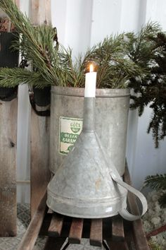 Funnel Candle stick