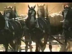 Anheuser-Busch Super Bowl ad from 1999 featuring two dalmatians separated at birth and the Clydesdales.