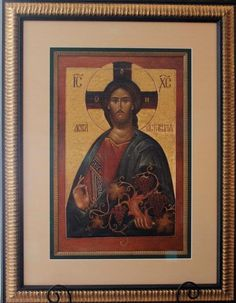 "Russian Icon Print on Canvas Limited Edition ""Christ The True Vine"" Description: Icon limited edition piece, ""Christ The True Vine"" commissioned by the Orthodo Russian Icons, Russian Art, Religious Icons, Religious Art, True Vine, Into The Fire, The Good Shepherd, Art Icon, Orthodox Icons"
