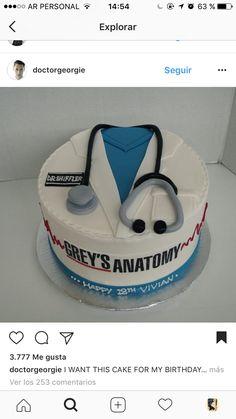 Grey's Anatomy cake⚕️