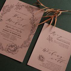 "designki.com on Instagram: ""Simple Wedding Invitation🍁 on uncoated textured paper👩💻designed + printed by @design.ki . . #weddinginvitations #weddinginvites…"" Wedding Reception, Our Wedding, Simple Wedding Invitations, Graphic Design Print, Paper Design, Paper Texture, Printed, Instagram, Marriage Reception"
