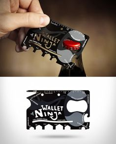 Wallet Ninja Multitool. If you want to customize a good-looking merch or promotional item, visit www.unifiedmanufacturing.com.