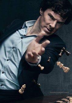 Benedict Cumberbatch as Sherlock Holmes Sherlock Bbc, Benedict Sherlock, Sherlock Holmes Benedict Cumberbatch, Sherlock Series, Watson Sherlock, Jim Moriarty, Sherlock Quotes, Sherlock Tumblr, Sherlock Season 4