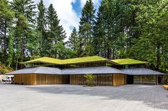 "Japanese Architect adds ""Cultural Village"" to Portland's Japanese Garden"