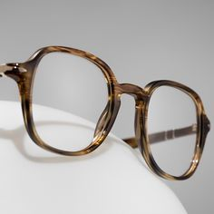 1940s shapes are revived with modern materials in the Persol Galleria 900 Collection of glasses