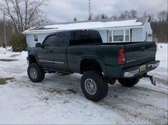 lifted Silverdo Chevrolet truck