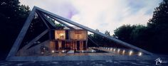 aleqs tsiskarishvili - Project - House in the suburb