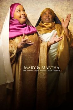 Mary and Martha. Icons of the Bible series by photographer James C Lewis Blacks In The Bible, Using People, Bible Images, Bible Pictures, Black Royalty, Black Jesus, African Royalty, Atlanta Photographers, Biblical Art