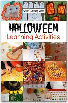 Wow! This is great - get children learning with these fun Halloween activities