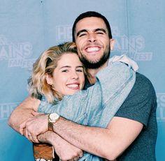 Emily Bett Richards & Josh Segarra #Arrow