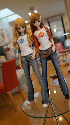 Mirai Suenaga and Kizuna Yumeno Smart Doll by MiraiRobotics