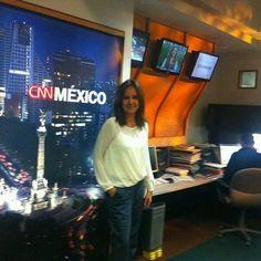 Tras charlar sobre Misión Olvido en CNN México, con difusión en toda la América de habla española.