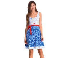 Strappy summer dress | Desigual Queli