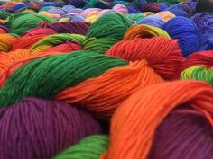 This is the SKEINO yarn river! A vast stream of colors, textures and softness. :D