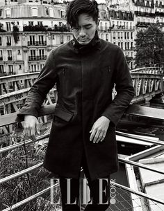 3rd Batch of Pics of Lee Jin Wook From the November Edition of Elle Korea | Couch Kimchi