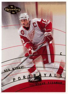 Steve Yzerman # 146 - 2000-01 Upper Deck Heroes Hockey