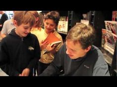ChiIL Mama caught up with Wimpy Kid author, Jeff Kinney in Nov. of 2012, midway through his ambitious 50 book stores in a week tour for his new release, The Third Wheel.   Check out his take on balancing fatherhood with fame.  http://www.chiilmama.com/2012/11/jeff-kinney-diary-of-wimpy-kid-author.html