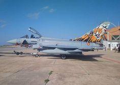 El tigre dientes de sable del Ejército del Aire español que participará en el NATO Tiger Meet-noticia defensa.com Spanish Air Force, Reactor, Top Gun, Fighter Jets, Aircraft, Military, War, Military Photos, Fighter Aircraft