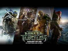 Filme De Ação Blockbuster de 2015 - Filme As Tartarugas Ninja