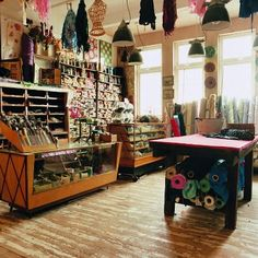 Haberdashery shop in rural England The World of Interiors World Of Interiors, Shop Interiors, Shop Interior Design, Store Design, Interior Ideas, Haberdashery Shop, Second Hand Furniture, Interiors Magazine, Worlds Of Fun