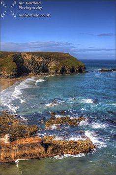 Portreath . Cornwall . England
