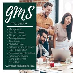 . Middle Management, Program Management, 80 20 Principle, More Information, Decision Making, Best Self, Programming, Coaching, Success