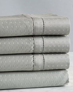 """Some of you have to get in on this: Kensington 600TC """"Dot"""" Cotton Sheet Set"""