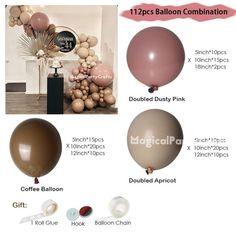 Balloon Backdrop, Balloon Columns, Balloon Garland, Wedding Balloon Decorations, Balloon Centerpieces, Birthday Party Decorations, Pastel Balloons, Confetti Balloons, Baby Shower Balloons