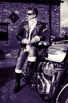 Studded Jacket, Greaser, Royal Enfield, Biker Style, Cafe Racers, My Ride, Rockers, Cannon, Motorbikes