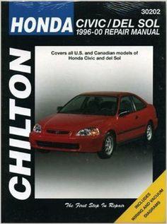 Honda Civic '98 Repair Manual $23