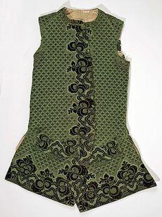 Early 18th century Italian Waistcoat at the Metropolitan Museum of Art, New York