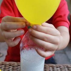 Balloon Science Experiment {Science}