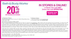 Bath & Body Works coupons & Bath & Body Works promo code inside The Coupons App. off at Bath & Body Works, or online via promo code May Bath Body Works Coupon, Bath And Body Works, Bird House Plans, Free Printable Coupons, Saving Money, Money Savers, Print Coupons, Good To Know, It Works