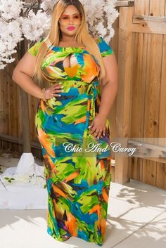 22e331e91ec 50% Off Sale - Final Sale Plus Size Off The Shoulder Gown in Green