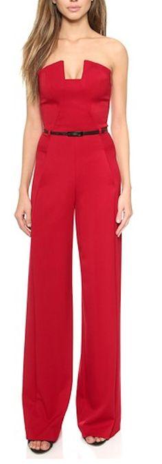 beautiful red jumpsuit http://rstyle.me/n/ufa9sr9te