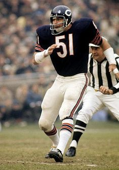 Dick Butkus - Chicago Bears (1970) by SI