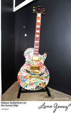 Guitar for the Sunset Strip and Gibson Guitars